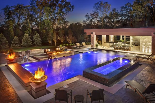 Modern Pool Designs - Barrington Pools