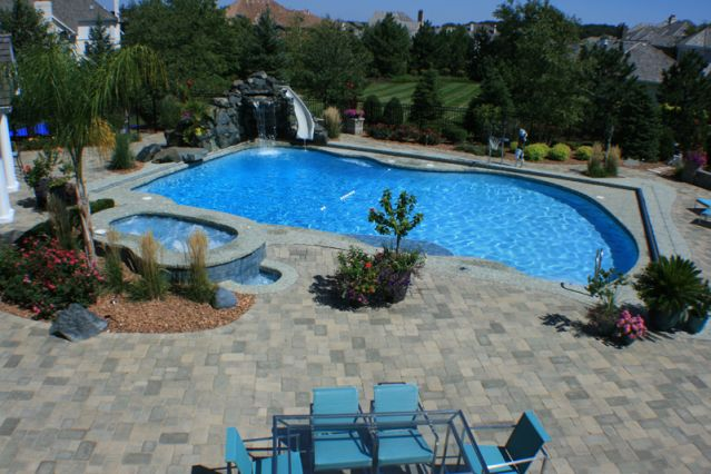 Free form pools barrington pools for Free pool design