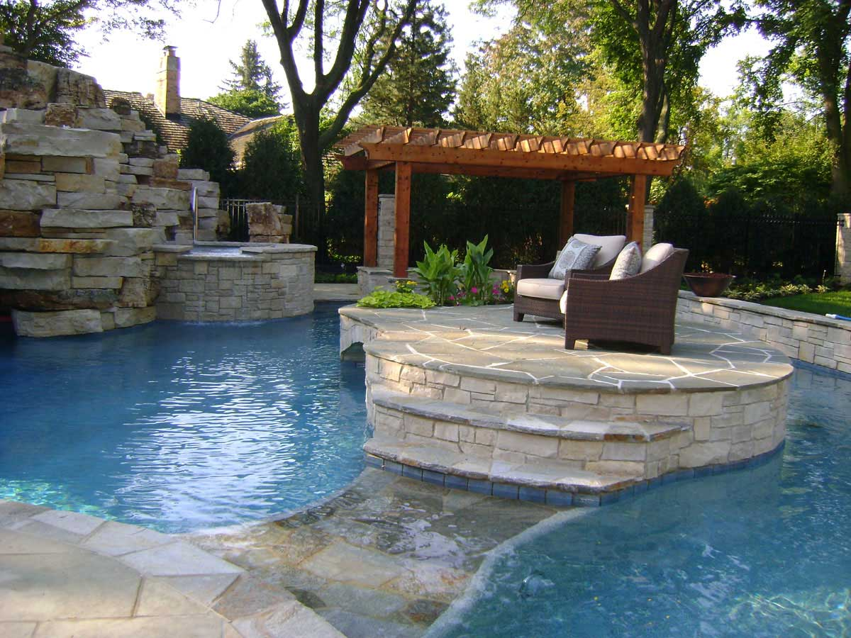 Barrington Pools Award Winning In Ground Swimming Pools Chicago
