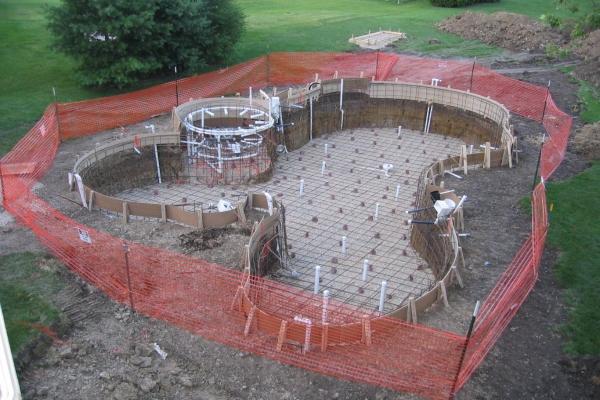 Pool Building Process Barrington Pools