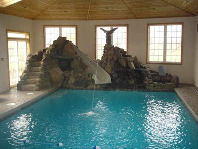 Barrington Pools Award Winning Inground Swimming Pools - Enclosed pool designs
