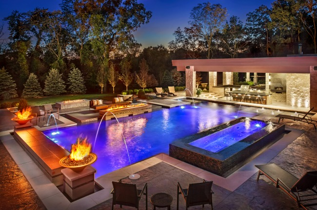 Create Your Zen Space With A Modern Pool. Designs Can Be Very Elaborate And  Can Be Planned To Complement The Architecture Of Your Homeu2014even It Is Not A  ...